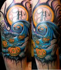 nightmare before christmas tattoos nightmare before xmas tattoo