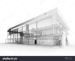 home office grey high end office building design plans with warm