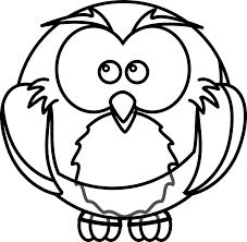 cartoon owl coloring book colouring black white line art google