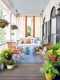budget spring front porch decor drapes jpeg
