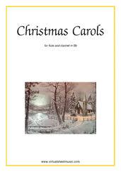 flute and clarinet christmas duets sheet music u0026 carols