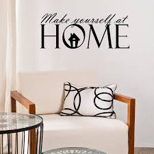 make yourself at home wall sticker by mirrorin make yourself at home wall sticker