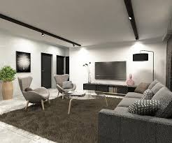 HDB Living Room Design Ideas - Living room design singapore