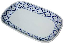 ceramic platter ceramic rectangular platter 12 5 x 9 importfood
