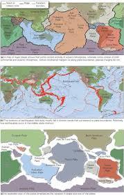 World Plate Boundaries Map by 13 Best Plate Techtonics Images On Pinterest Plate Tectonics