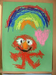 elmo painting sesame elmo crayon drawings will krause