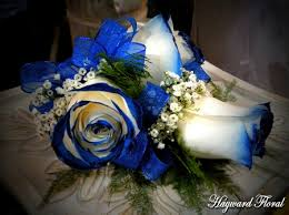 royal blue corsage 029 corsage