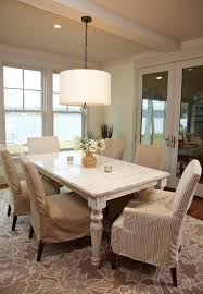 Pendant Lighting For Dining Table Chic Drum Pendant Lighting In Kitchen Traditional With Replacing A