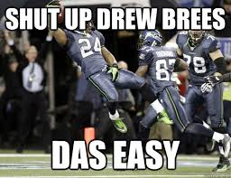 Drew Brees Memes - drew brees is not in decline you just have brees nostalgia