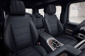mercedes g wagon red interior heritage meets high tech in the 2019 mercedes benz g class