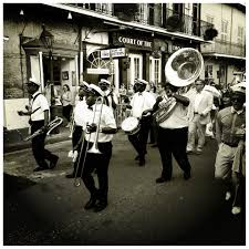 new orleans wedding bands second line brass band wedding parade the beginning of the