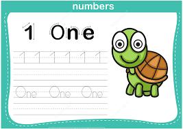 number 1 tracing worksheet free printable puzzle games
