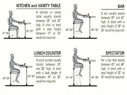 standard seat height standard seat height what is a standard table height large size of