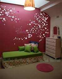 tree wall decal baby nature tree wall mural nursery wall