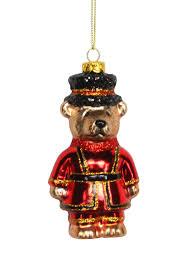 gisela graham london christmas tree decoration xmas bauble bus