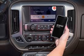 gmc yukon back gmc expands android auto availability