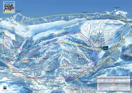 Piste Maps For Italian Ski by Les Carroz D U0027arraches Piste Map Iglu Ski