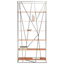 Industrial Bookcases Thicket Etagere Contemporary Industrial Bookcases U0026 étageres