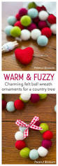 best 25 felt ball wreath ideas on pinterest felt ball felt diy