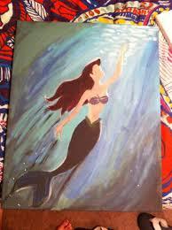 best 25 little mermaid painting ideas on pinterest little