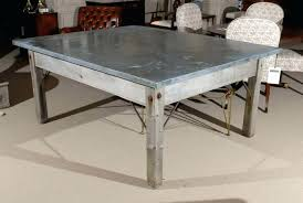 Zinc Top Bistro Table Zinc Garden Table Guen Info