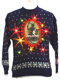 krampus christmas sweater b