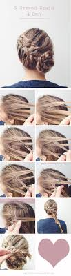 what jesse nice braiding hairstyles 20 diy wedding hairstyles with tutorials to try on your own bun