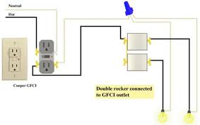gfci and double rocker issues doityourself com community forums