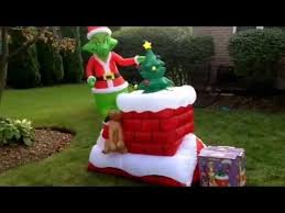 gemmy airblown inflatable grinch animated christmas blow up
