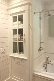 Bathroom Linen Cabinets Attractive Bathroom Built In Cabinets With Best 25 Linen Cabinet