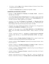 Sample Ot Resume by Resume Sumita Jan 2015