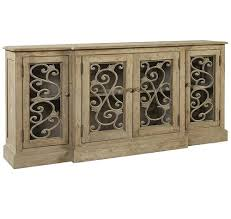 braxton french grey buffet sideboard with nailheads zin home