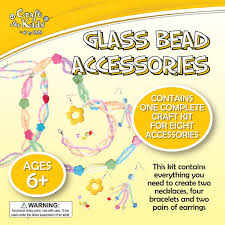 glass bead accessories by craft for kids u2013 daves deals