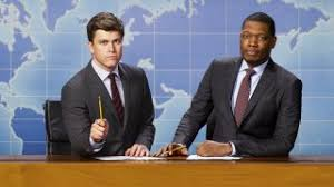 snl weekend update u0027 tina fey eats sheet cake seth meyers and