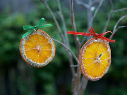 handmade ornaments dried oranges the magic onions