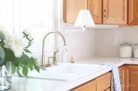 how do you update oak kitchen cabinets updating a kitchen with oak cabinets without painting them