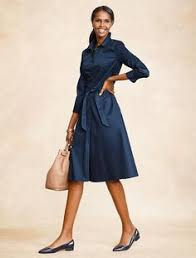 flounced sleeve ponte sheath dress talbots fashion pinterest