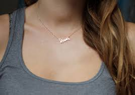 small name necklace tiny name necklace small name necklace ksvhs jewellery