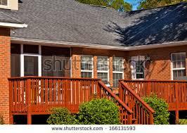 Backyard Wood Deck Backyard Wood Deck Stock Images Royalty Free Images U0026 Vectors