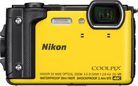 Rugged Point And Shoot Cameras Nikon Coolpix W300 16 0 Megapixel Waterproof Digital Camera Yellow