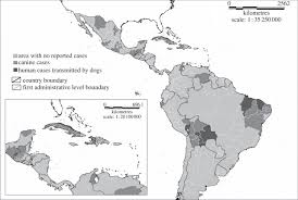 Central America And The Caribbean Map by Progress Towards Eliminating Canine Rabies Policies And