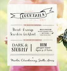 customizable menu templates wedding menu template