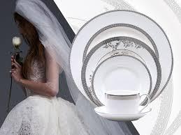wedding china wedding china and wedding gown pairings