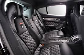 black porsche panamera interior porsche panamera stingray carbon black interior topcar