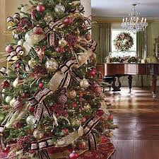 outstanding traditional trees decorated 22 with