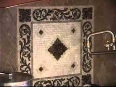 Tile Medallions For Kitchen Backsplash by Ceramic Tile Medalion Backsplashes Medallion Display Medallions