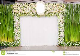 wedding backdrop for pictures wedding backdrop stock image image of celebration nature 55211963