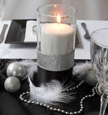New Year S Eve Table Decorations Idea by Casual Black And White Tablescapes This Show Stopper Of A Table
