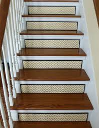 staircase stair riser gold home decor all that glitters is