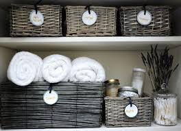 Bathroom Linen Closet Ideas Deliciously Organized Organizing Linen Closet Diy Round Labels